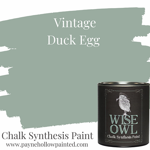 VINTAGE DUCK EGG  Chalk Synthesis Paint