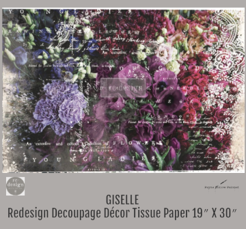 GISELLE - Redesign Decoupage Paper