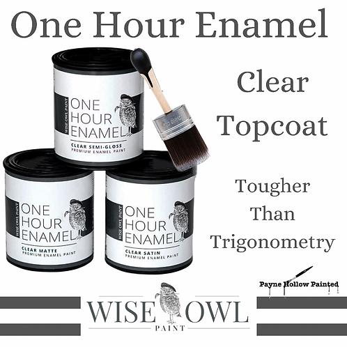 One Hour Enamel Clear Topcoat