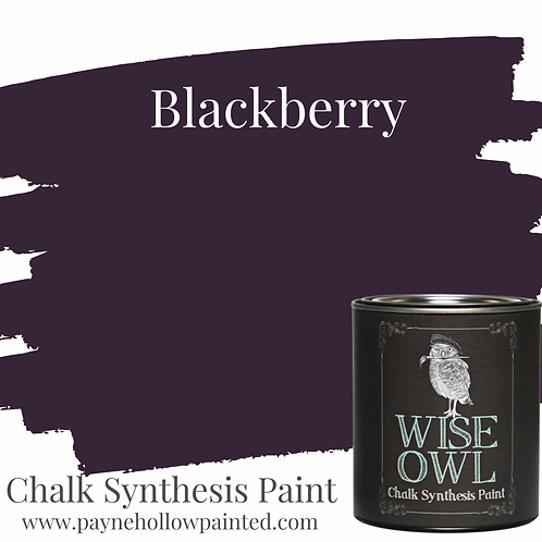 Blackberry Chalk Synthesis Paint