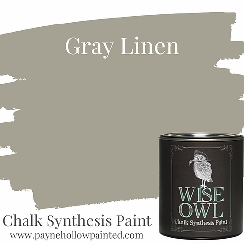 GRAY LINEN Chalk Synthesis Paint