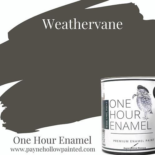WEATHERVANE  One Hour Enamel