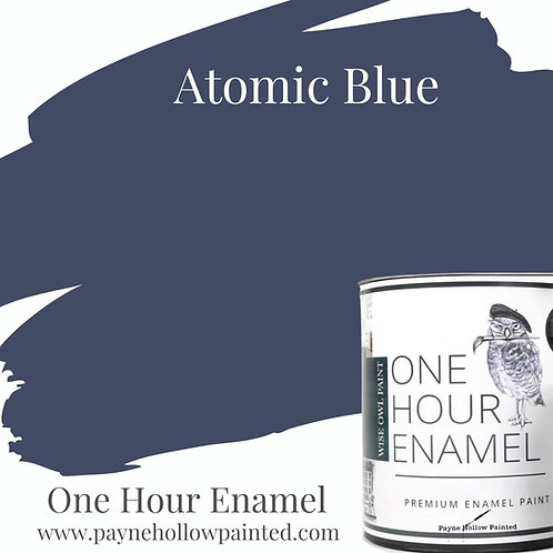 ATOMIC BLUE One Hour Enamel