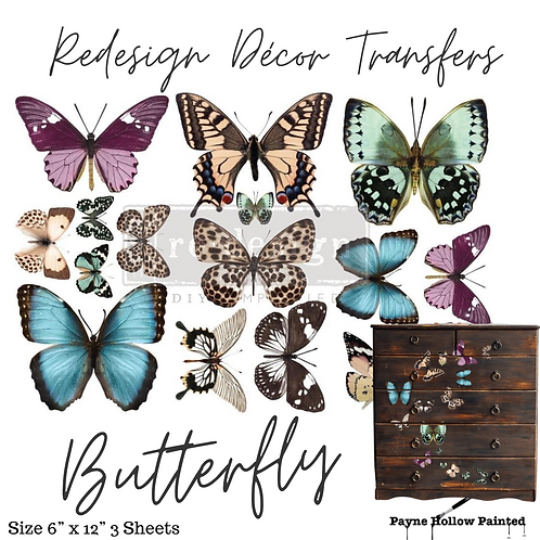 BUTTERFLY - Redesign Decor Transfer