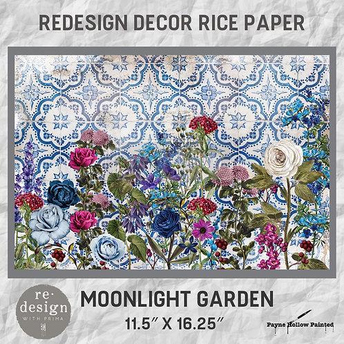 MOONLIGHT GARDEN - Redesign Décor Rice Paper