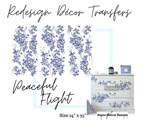 PEACEFUL FLIGHT -  Redesign Decor Transfers
