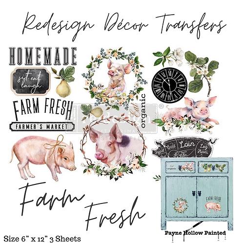 FARM FRESH - Redesign Decor Transfer