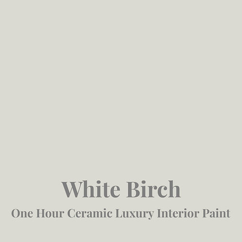 WHITE BIRCH One Hour Ceramic FREE SHIPPING!