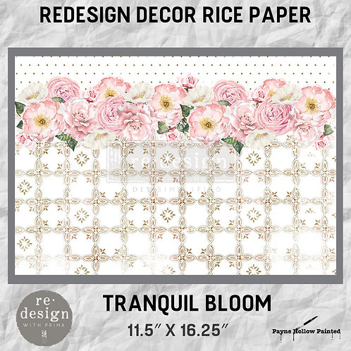 TRANQUIL BLOOM - Redesign Décor Rice Paper