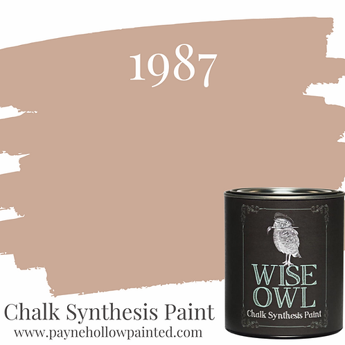 1987 Chalk Synthisis Paint