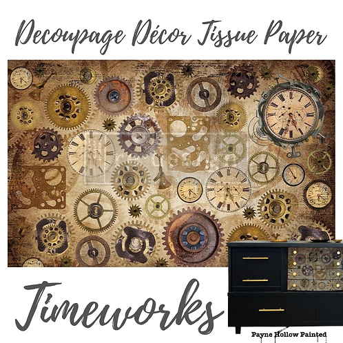 TIMEWORKS - Redesign Decoupage Tissue Paper