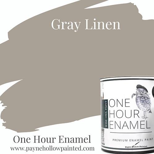 GRAY LINEN  One Hour Enamel
