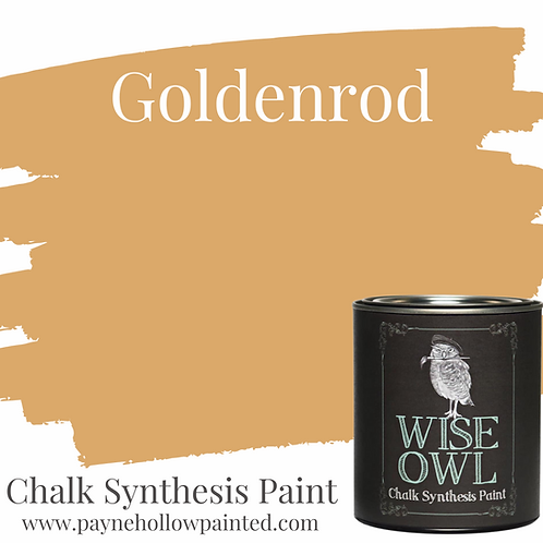 GOLDENROD Chalk Synthesis Paint