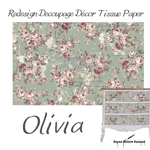 OLIVA - Redesign Decoupage Tissue Paper