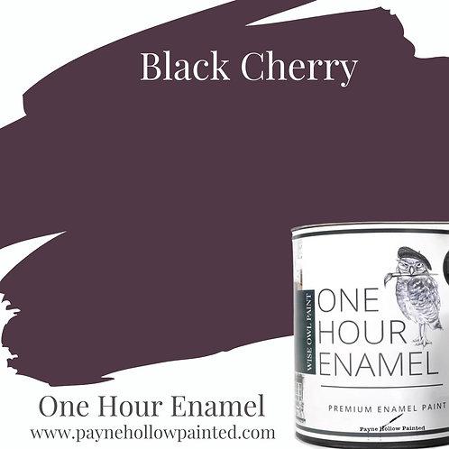 BLACK CHERRY One Hour Enamel