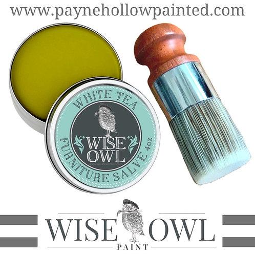 Wise Owl WHITE TEA Furniture Salve
