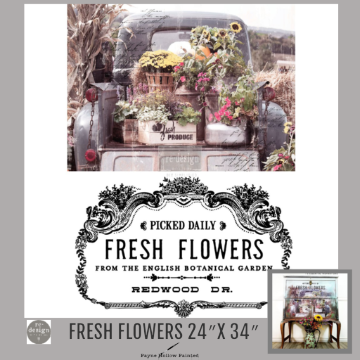 FRESH FLOWERS - Redesign Décor Transfers®