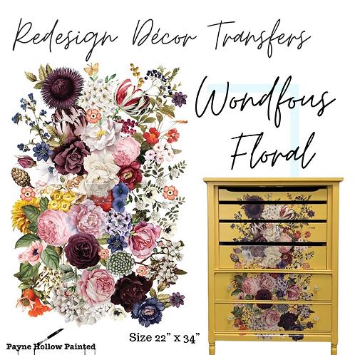 WONDROUS FLORAL - Redesign Décor Transfers®