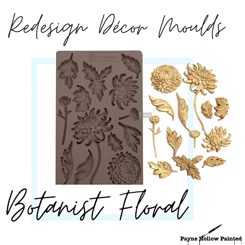 BOTANIST FLORAL - Redesign Decor Moulds®