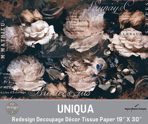 UNIQUA  -  Redesign Decoupage Tissue Paper