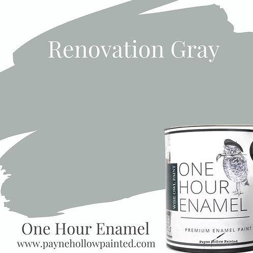RENOVATION GRAY One Hour Enamel