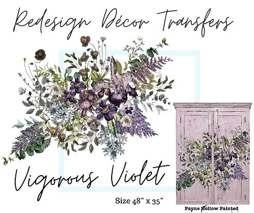 VIGOROUS VIOLET - Redesign Décor Transfers®