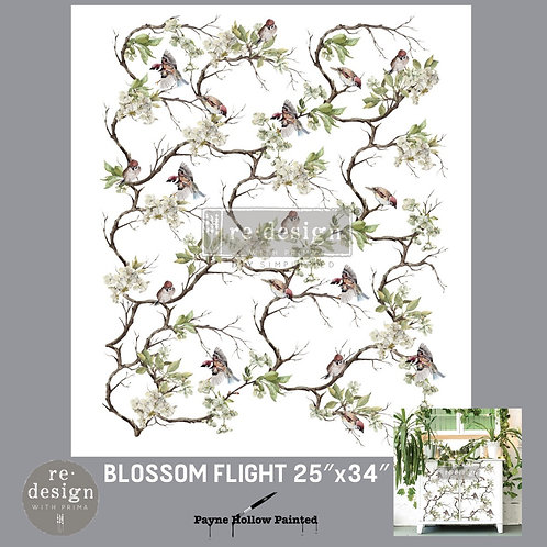 BLOSSOM FLIGHT  -  Redesign Decor Transfers®