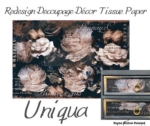 UNIQUA  -  Redesign Decoupage Tissue Paper