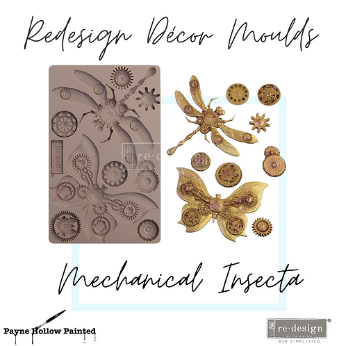 MECHANICAL INSECTICA  -  Redesign Decor Moulds®
