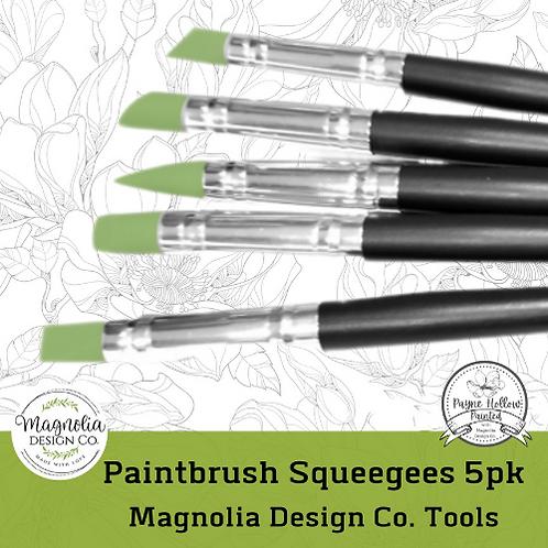 Paintbrush Squeegee 5 pack