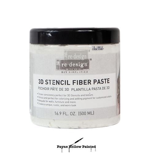 Redesign with Prima, 3D Stencil Paste, Molding Paste