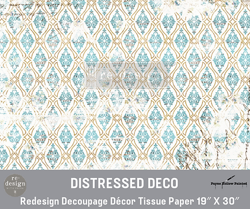 DISTRESSED DECO- Redesign Decoupage Tissue Paper