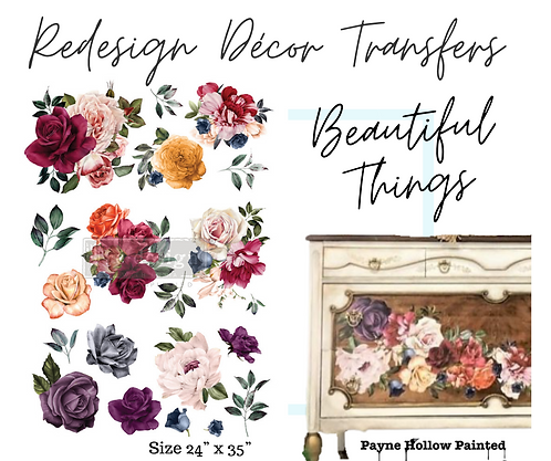 BEAUTIFUL THINGS  - Redesign Décor Transfers®