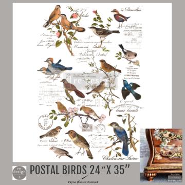 POSTAL BIRDS - Redesign Décor Transfers®