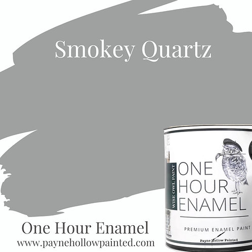 SMOKEY QUARTZ  One Hour Enamel