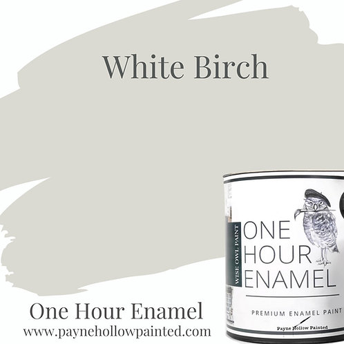 WHITE BIRCH One Hour Enamel