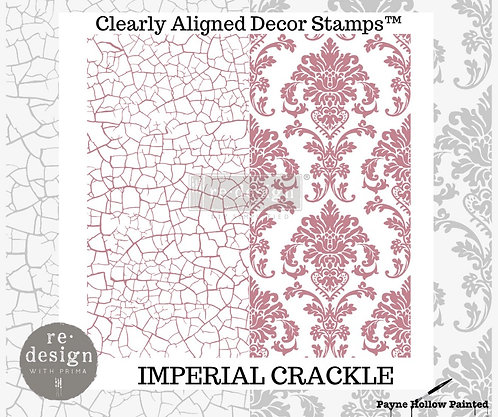 IMPERIAL CRACKLE - Clearly Aligned Décor Stamps