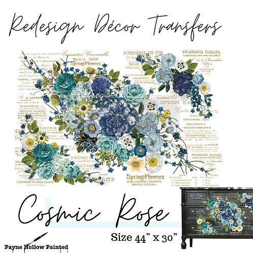 COSMIC ROSES DESIGN - Redesign Decor Transfers®