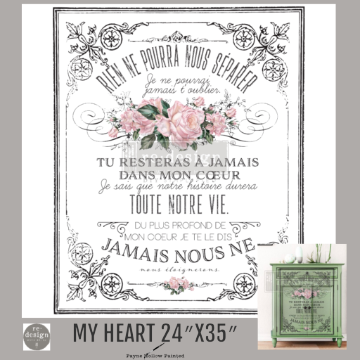 MY HEART - Redesign Décor Transfers®