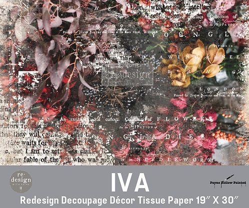 IVA - Redesign Decoupage Tissue Paper