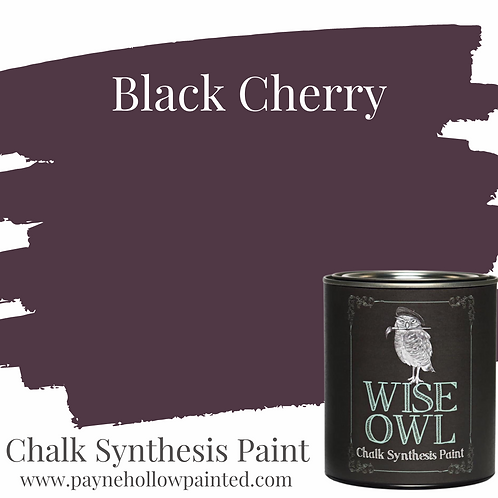 BLACK CHERRY Chalk Synthesis Paint