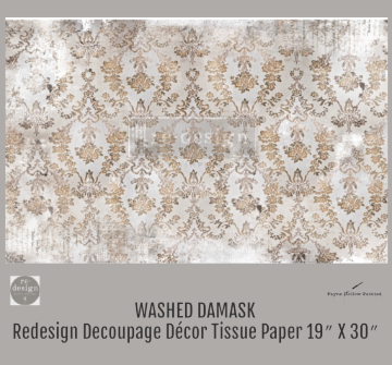Washed Damask - Redesign Decoupage Paper