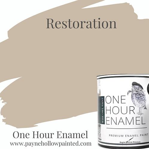 RESTORATION One Hour Enamel