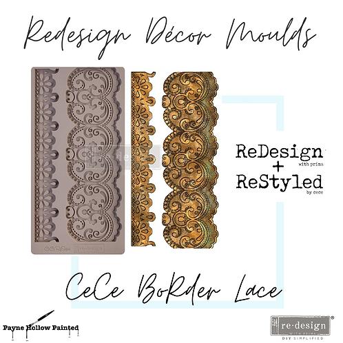 CECE BORDER LACE - Redesign Decor Moulds®