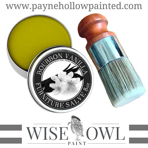 Wise Owl BOURBON VANILLA Furniture Salve