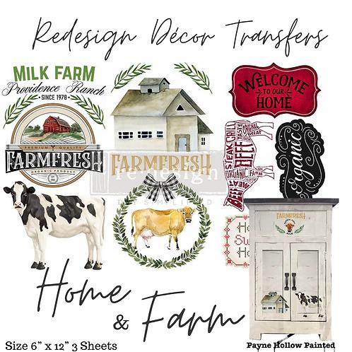 HOME & FARM - Redesign Decor Transfer