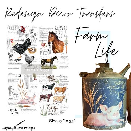 FARM LIFE - Redesign Décor Transfers®