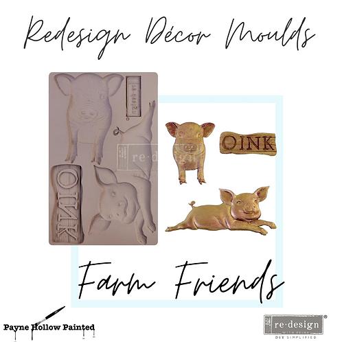 FARM FRIENDS   -  Redesign Decor Moulds®