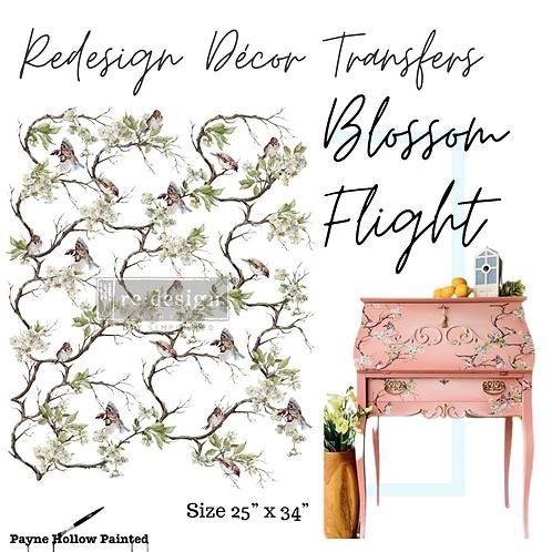 BLOSSOM FLIGHT  -  Redesign Decor Transfers®