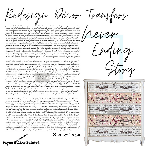 NEVER-ENDING STORY - Redesign Décor Transfers®